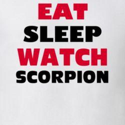 Eat Sleep Watch Scorpion Tv Show T Shirt
