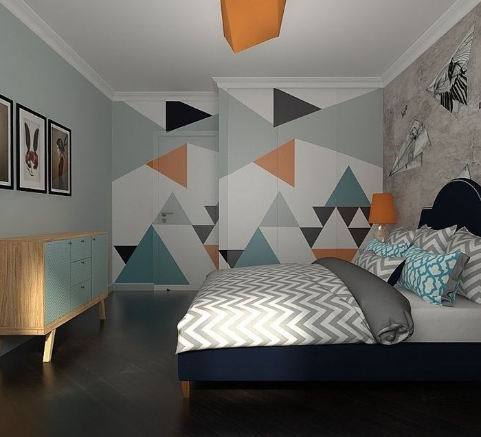 Московская квартира в цветах картины Ван Гога – Красивые квартиры