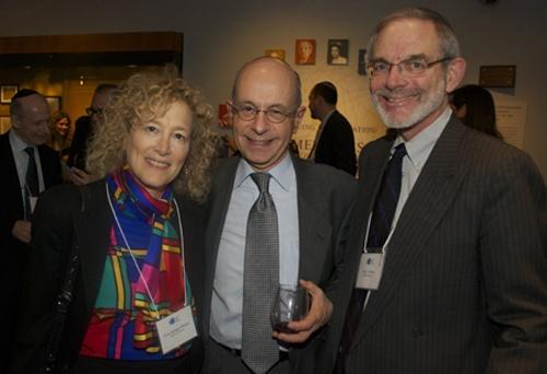 Elisa Spungen Bildner, Bob Goldfarb, and Alan Weiner