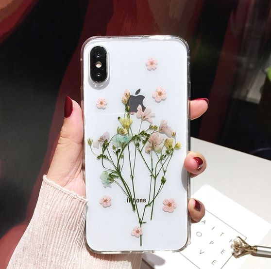 Bouquet Of Dried Flowers iPhone Case