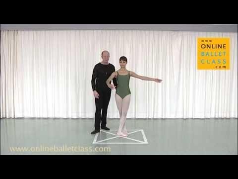 Jete/Dégagé Ballet Dictionary Online Ballet Class - YouTube