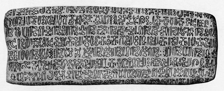 Rapa Nui tablet