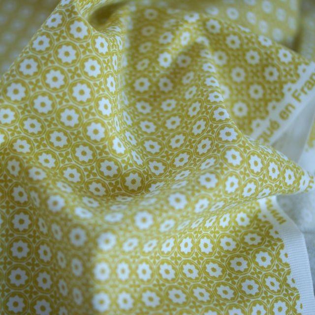 Cotton Canvas - Esterelle Mustard - MIss Maude