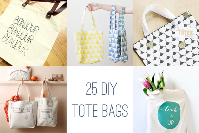 26 Ways to Decorate a Plain Tote Bag