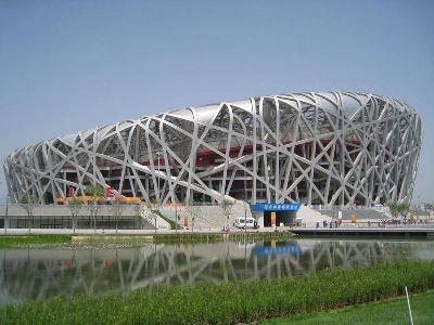 Beijing Bird's Nest, the site of the 2008 Olympics' Opening Ceremonies
