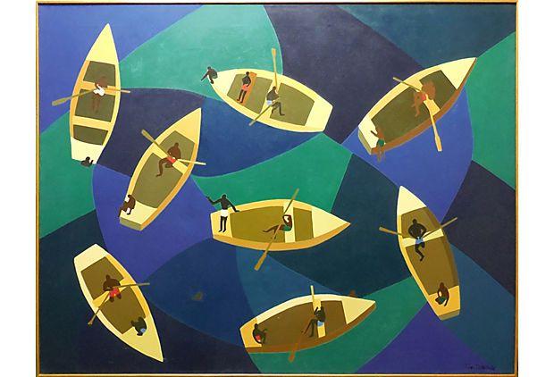 Diver's Boats, 1965 on OneKingsLane.com