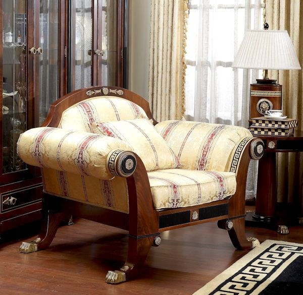 Italian Furniture   Italian Living Room Set Sofa Couch Arm Chair