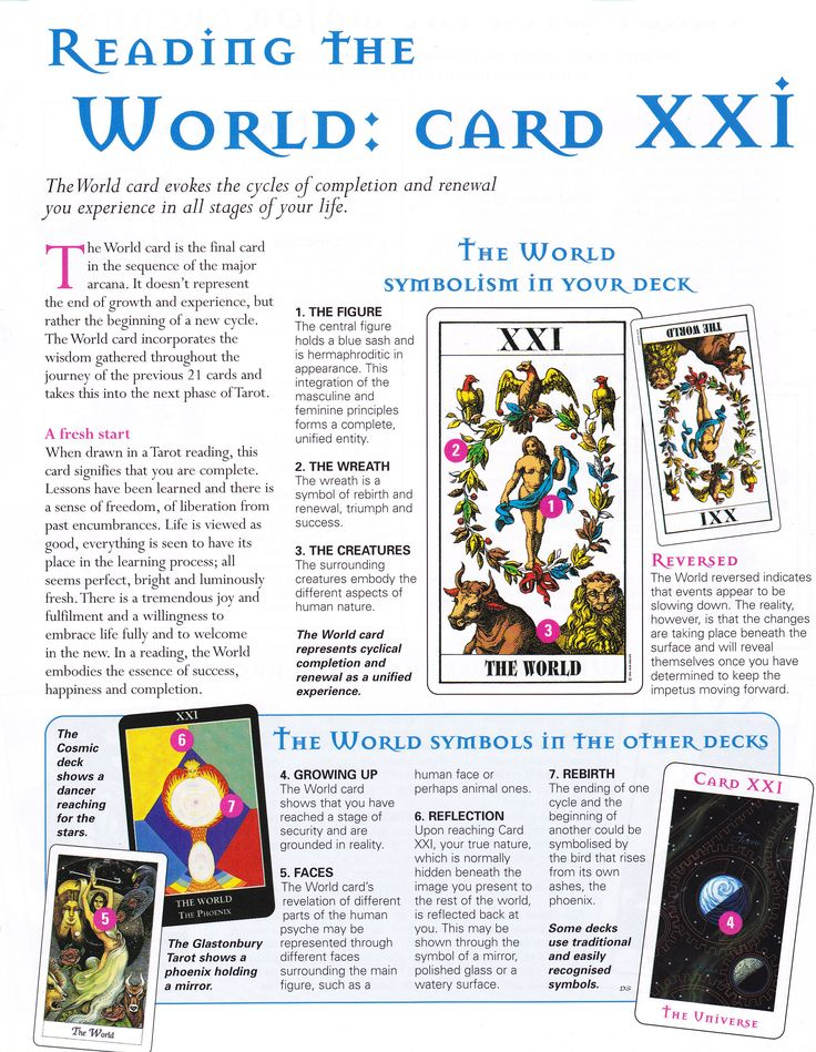 64 Best Ideas About Tarot: The World On Pinterest