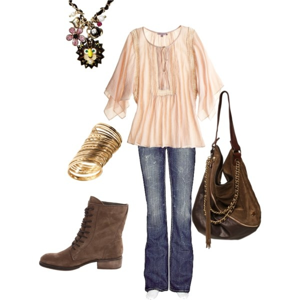 chilly spring day, created by thesavagemom on Polyvore ify on those boots though