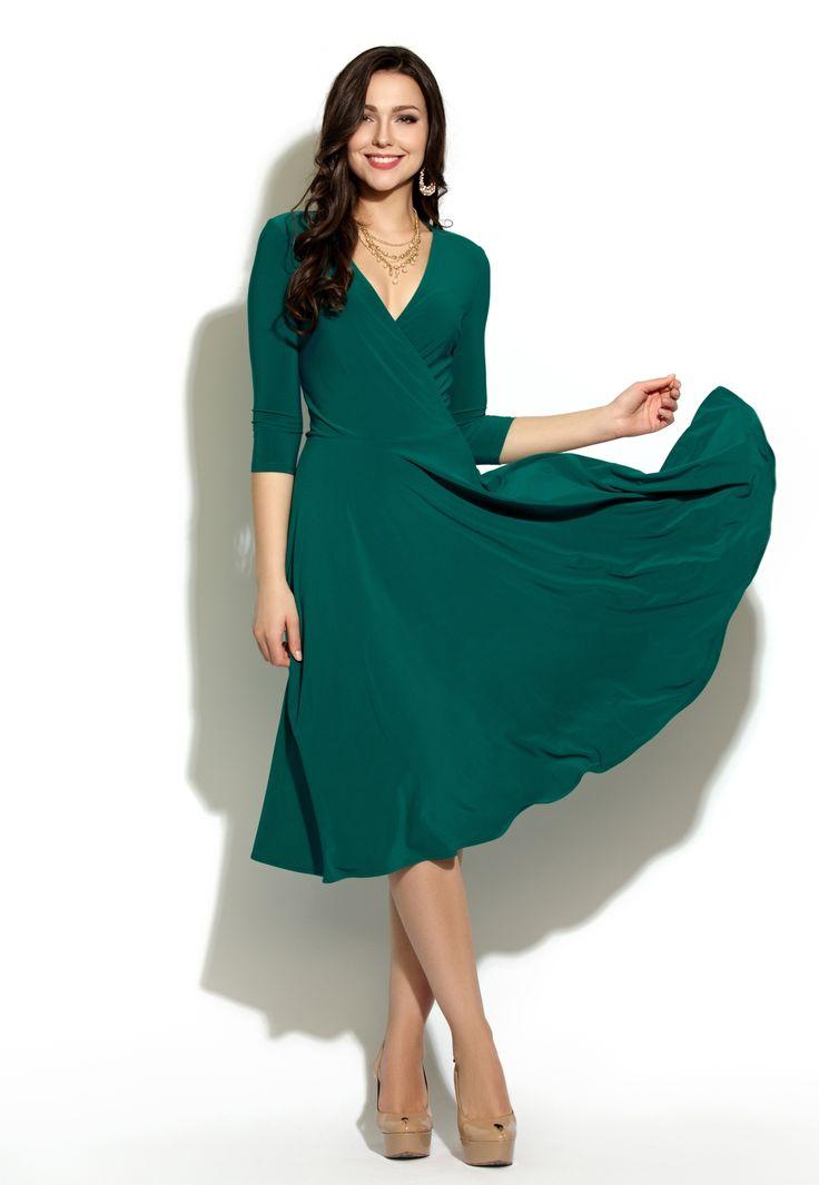 Трикотажное платье 12 - NORA STYLE