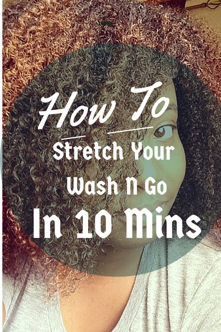 How To Stretch Your Wash N Go In 10 Mins #Naturalhair #NaturalHairStyles #NaturalHairTutorials