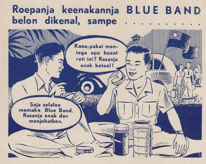 BLUE BAND. Enak dan menyehatken