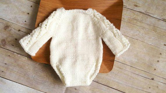 Baby Lace Romper  lace sleeve romper  lace romper  newborn