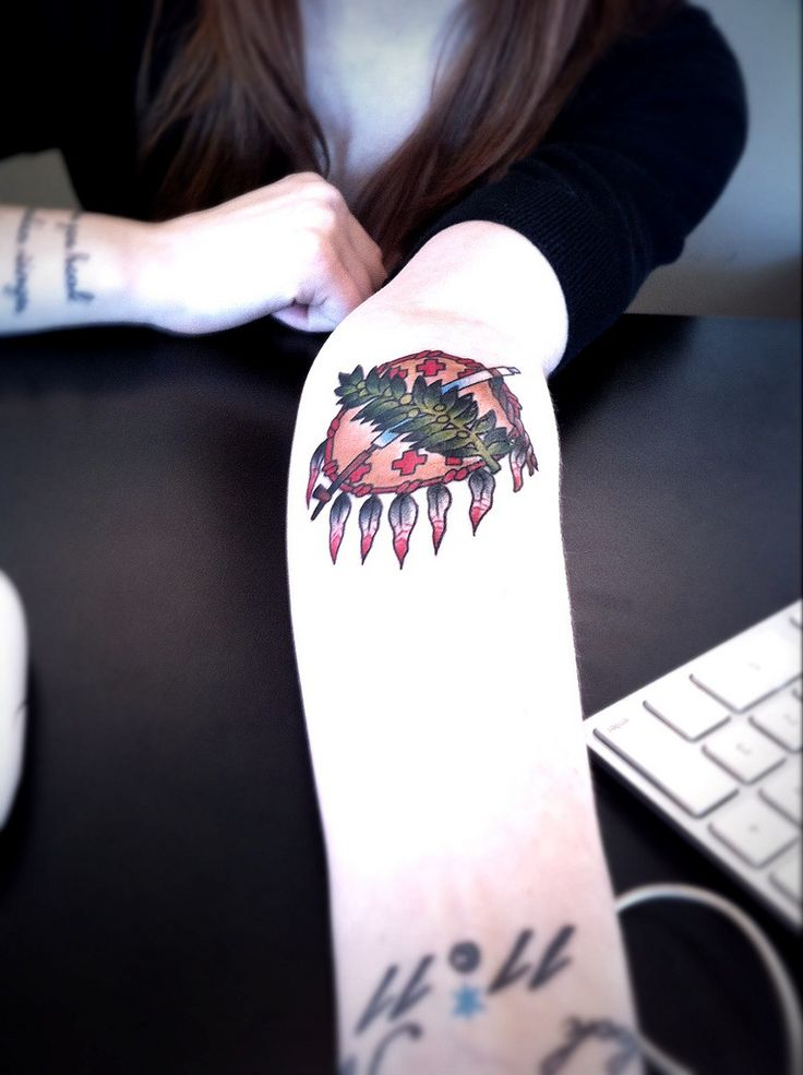Spotted: mega cool Oklahoma tattoo at @trichology | Flickr - Photo Sharing!