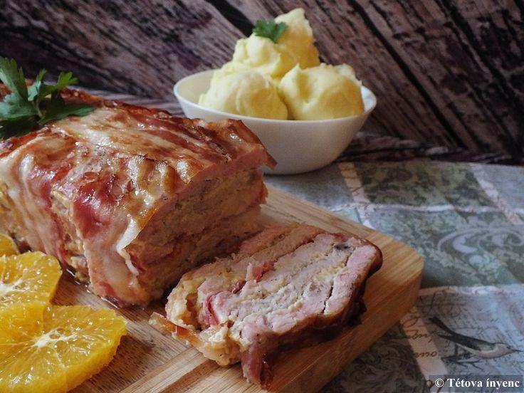 Régi kedvencünk ez a pulykamellel, sajttal, sonkával, bacon-nel rétegezett étel. Szívesen készítem nagyobb vendégseregnek, hiszen előre...