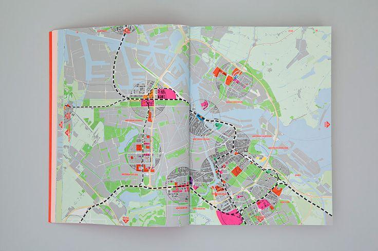 Maak Plaats: Diseño Editorial por Florian Mewes y Alfons Hooikaas | La inspiración de cuadrícula | Inspiración para el diseño