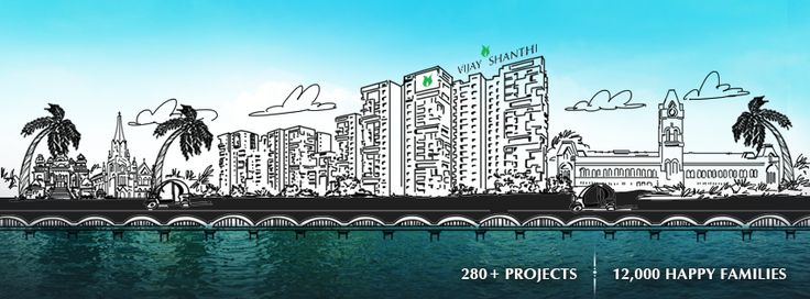 Vijay Shanthi Builders- Facebook Cover photo