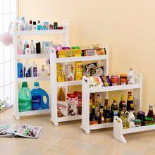 Hogar Rack de Almacenamiento Multi-capa estante del refrigerador de almacenamiento titular rueda zapato bastidores de vino de alimentos Carrito de cocina cuarto de baño estantes de garaje(China (Mainland))