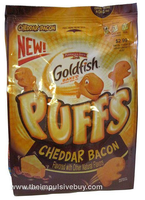 REVIEW: Pepperidge Farm Cheddar Bacon Goldfish Puffs