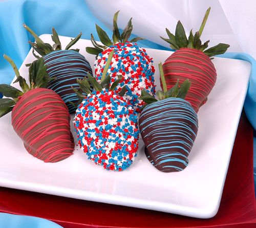 For red white and blue party (or even valentine's...without the blue one's of course)