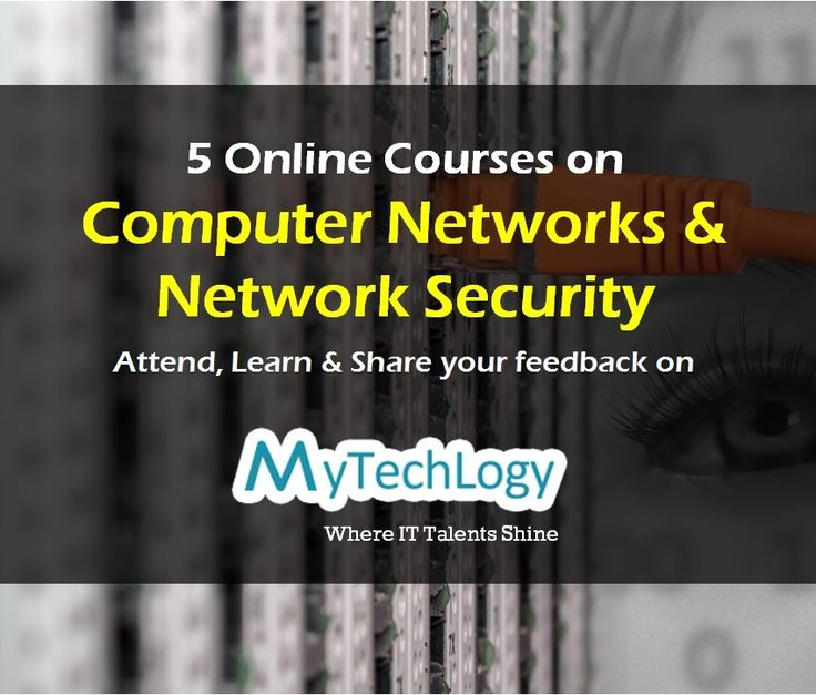 Attend, Learn & Share your feedback on these 5 Online IT courses on #ComputerNetworks & #NetworkSecurity fundamentals. Visit: http://www.mytechlogy.com/Online-IT-courses-reviews/courses-search/?q=computer+network&type=