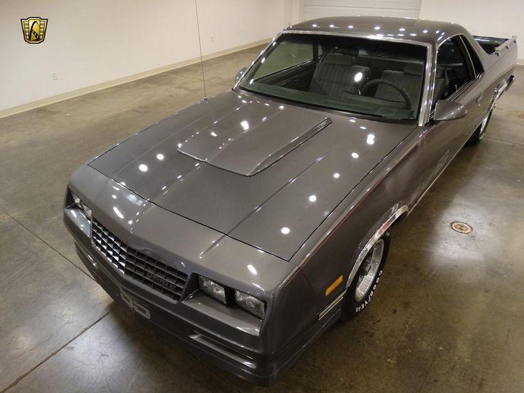 1986 Chevrolet El Camino Choo Choo Customs 5 0l V8 4bl Ohv