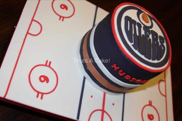 Edmonton Oilers Cake - That's A Cake!