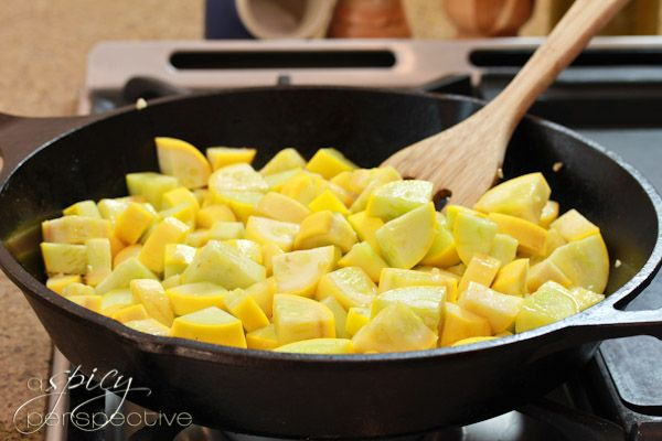 sauteed yellow squash
