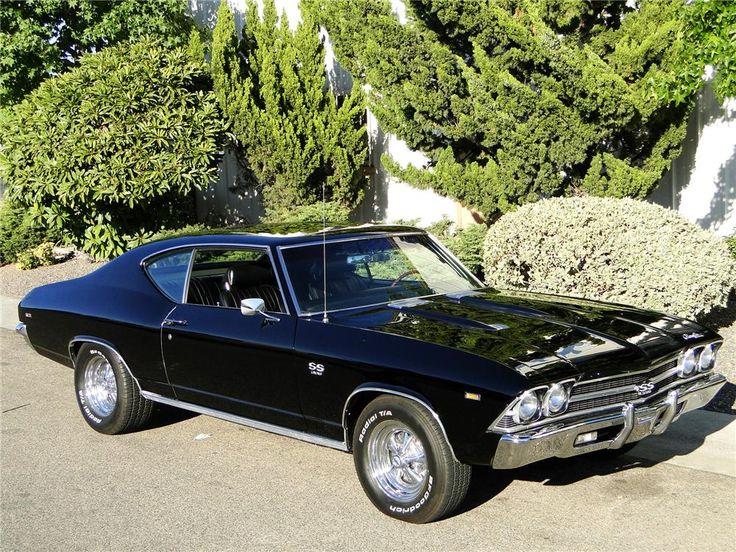 My dream car 1969 Chevelle except I would do a matte black ...