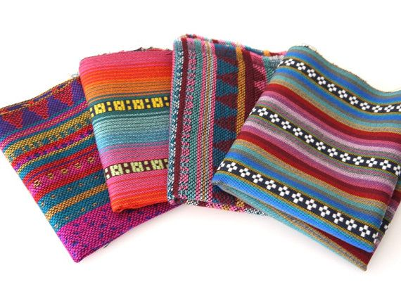 Aztec Fabric Peruvian Fabric Woven Fabric by sweetllamasupplies, $24.00 LOVE IT!
