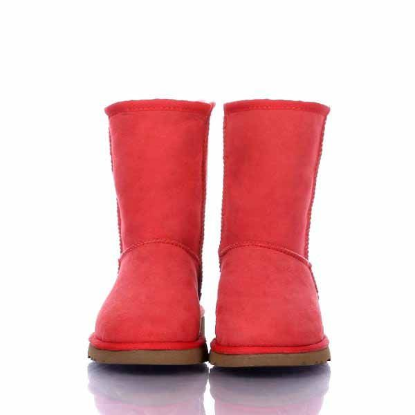 UGG Classic Short Boots 5825 Red  http://cheapugghub.com/ugg-boots-short-ugg-boots-5825-c-20_21.html