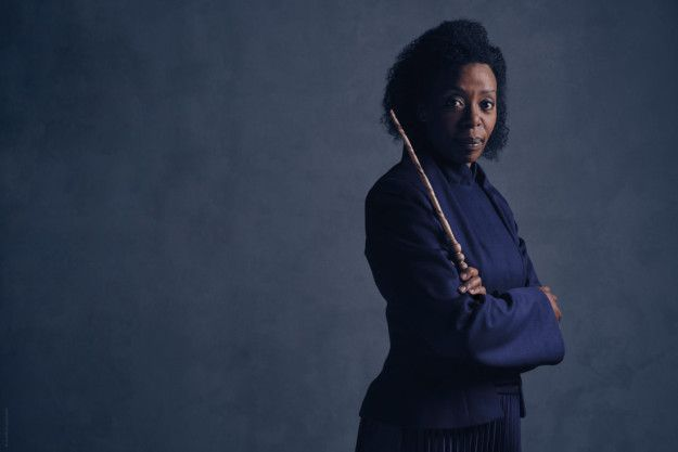 This is the first time we've seen Noma Dumezweni in character as Hermione, and she looks absolutely perfect. | Ron And Hermione Look Perfectly Cast In The Harry Potter Play