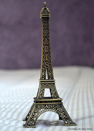 Torre Eiffel Miniatura - 18 cm