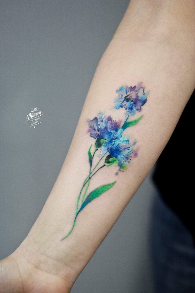 36 Beautiful Modern Nails With Bombastic Design: 36 Beautiful Watercolor Tattoos From The World's Finest