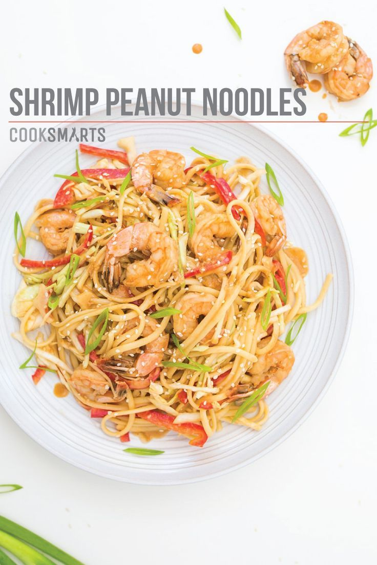 Cook Smarts, Shrimp Peanut Noodles, Peanut Noodles Recipe, Weeknight Dinner Recipe, Healthy Weeknight Dinner, Healthy Dinner Ideas, Healthy Dinner Recipes, Pantry Recipe, Pantry Dinner, Easy Cook Recipes, Meal Prepping