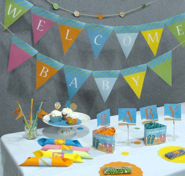 Baby Shower Decoration Ideas Homemade Of 17 Best Images About Nautical Baby Shower Or Beach Baby