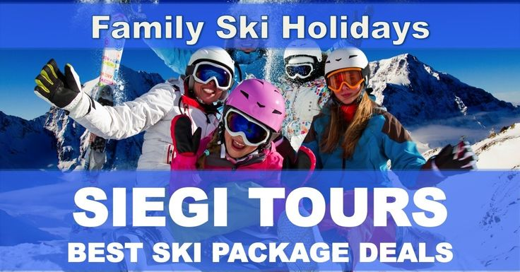 Family Ski Holidays - http://www.siegitours.com/family-ski-holidays/