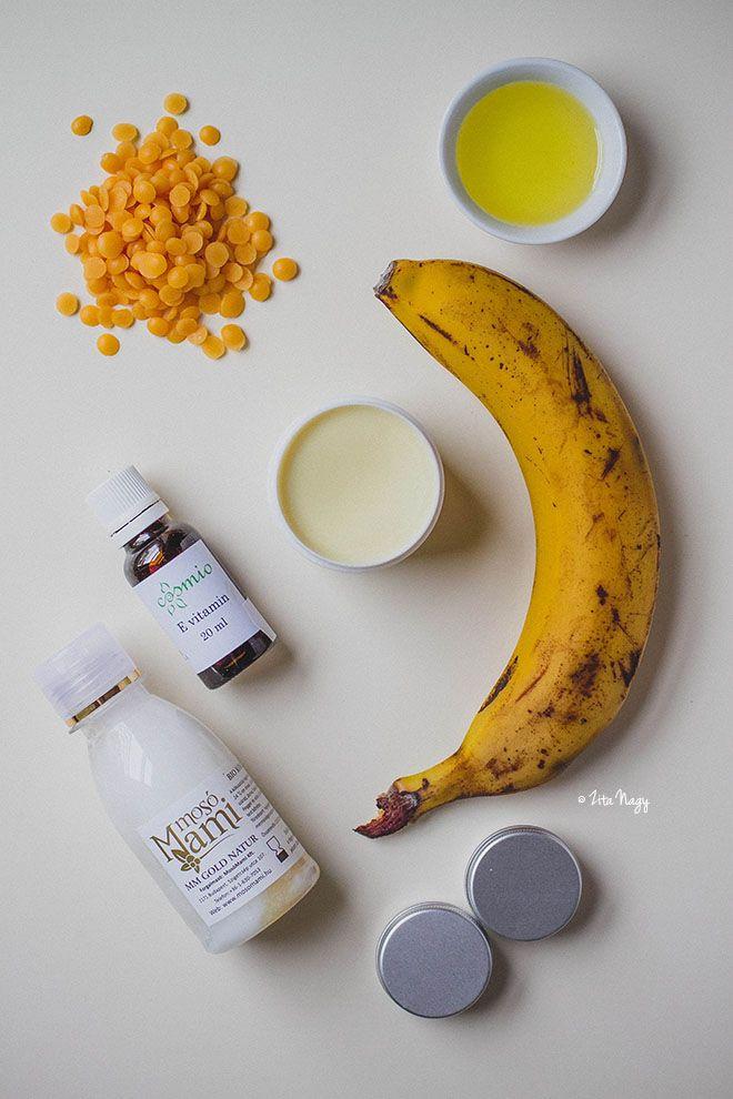 Ehető kencék: Banános és csokoládés ajakbalzsam
