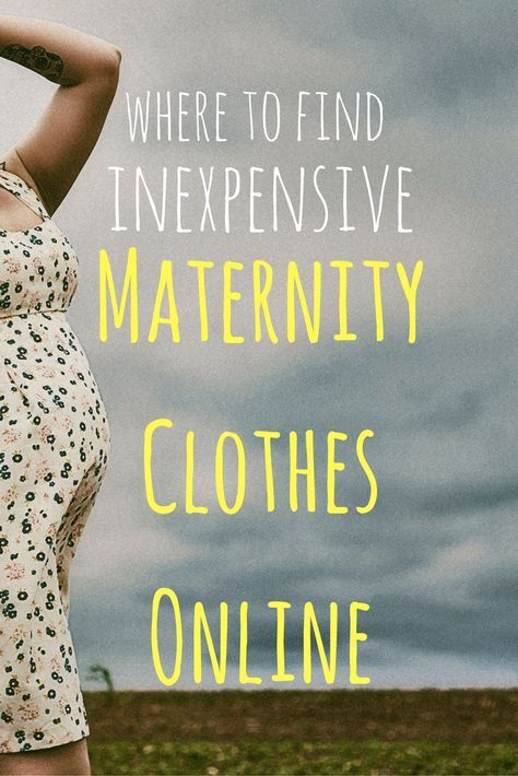 Making Babies: Where to Buy Cute and (semi) Inexpensive Maternity Clothes Online