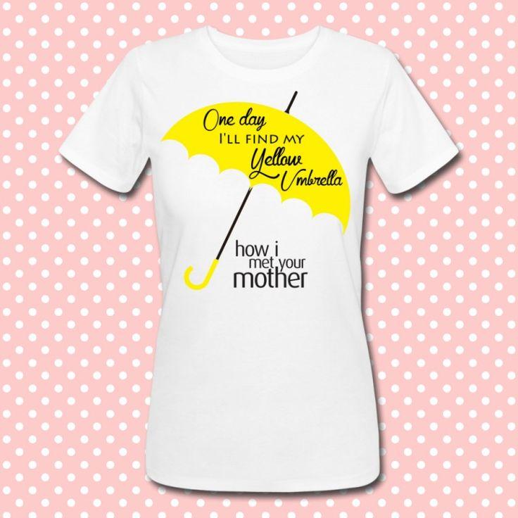 Gattablu stampa le tue t-shirt personalizzate, scegli tra le tantissime grafiche a colori brillanti firmate Gattablu Shop Online, oppure disegna la tua maglietta e personalizza il tuo guardaroba, per outfit unici al mondo! #tee #tshirt #outfit #moda #fashion #umbrella #yellow #himym #howimetyourmother #serietv