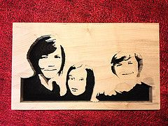 Would you like your own Scroll Saw Family Portrait