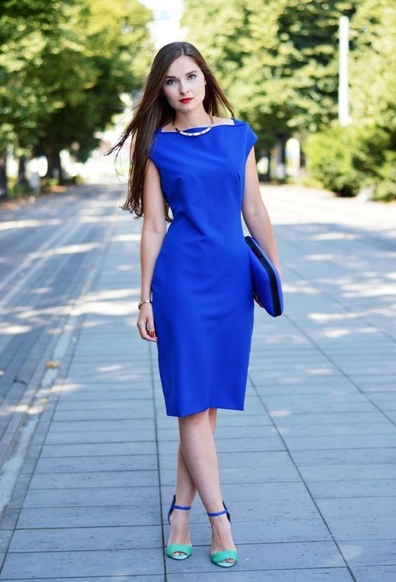 Pin on What Color Shoes to Wear With Royal Blue Dress