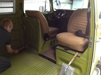 Removed bulkhead - The Camper Shak - Hand Crafted VW Camper Interiors