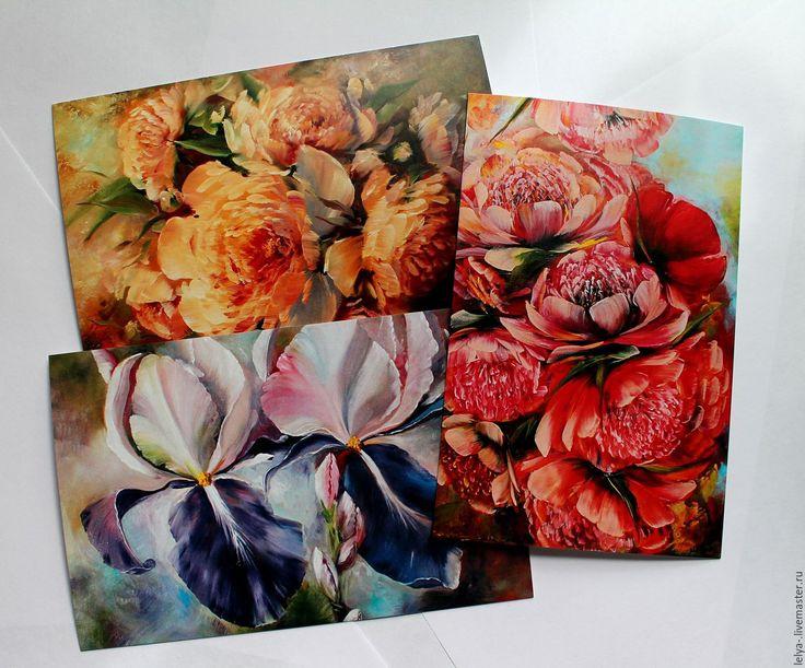 Цветы для авторских открыток