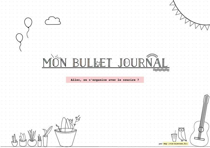 [Bullet journal] Fonctionnement, index et structure de base - Vie de Miettes