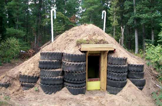How to Build a Root Cellar and Storm Shelter Use an ag liquids tank, soil, and reinforcements, and learn how to build a root cellar and sto...