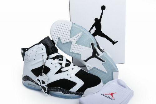 new style 2b378 ca4f2 Newest Air Jordan 6 Retro Oreo White Black-Speckle 384664-101 -  Mysecretshoes