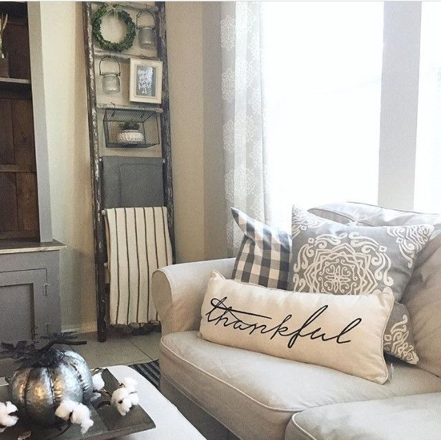 Thankful Pillow – Nested Sanctuary
