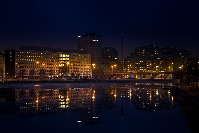 Merihaka by Night by lassi.kurkijarvi, via Flickr