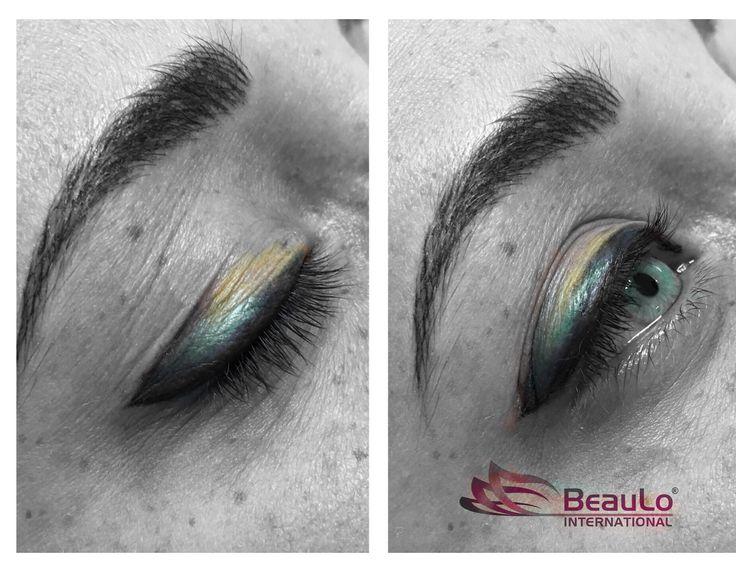 Eyeshadow with Eyeliner